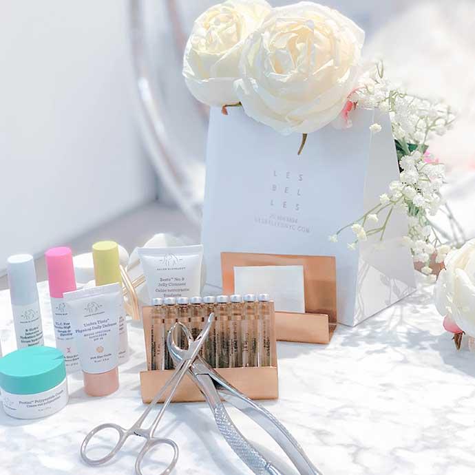 Les Belles beauty box.